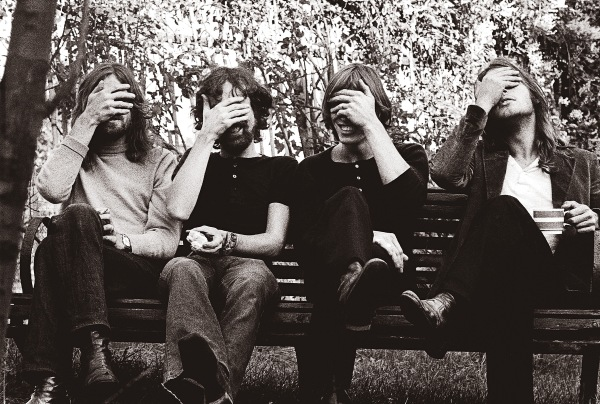 O Pink Floyd em momento 'facepalm'