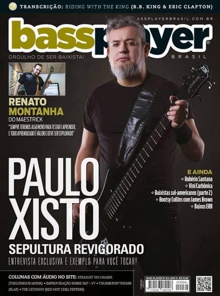 Capa da edição de número 64 da revista Bass Player